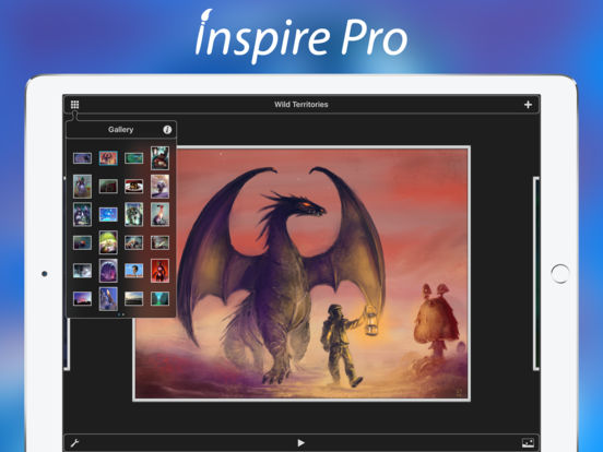 Inspire Pro — Create Art, Paint, Draw & Sketch Screenshot
