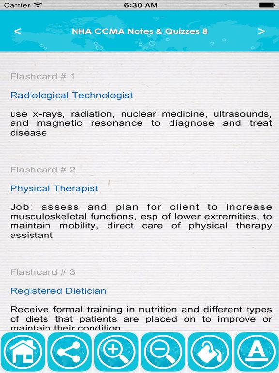 app shopper nha ccma study guide exam prep app 2017 medical rh appshopper com Phlebotomy Questions nha cpt exam study guide