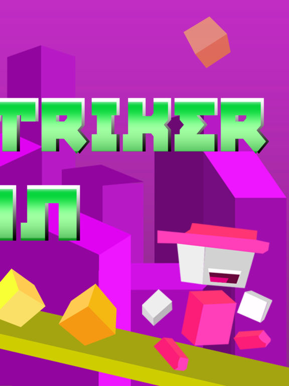 Screenshot #2 for Dash Striker Run - Tiny Switch Chameleon Color