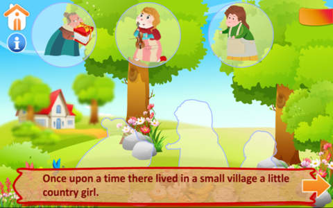 Red Riding Hood Lite screenshot 2