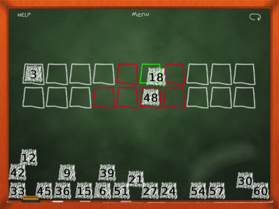 Chalk School: Skip Counting - Number Order Screenshot