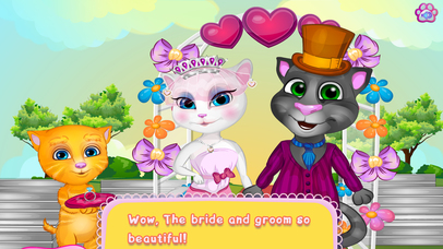 Kids Games:Tom And Angela Wedding Day screenshot 5