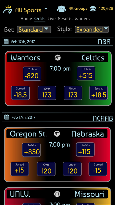KingFish Sportsbook screenshot