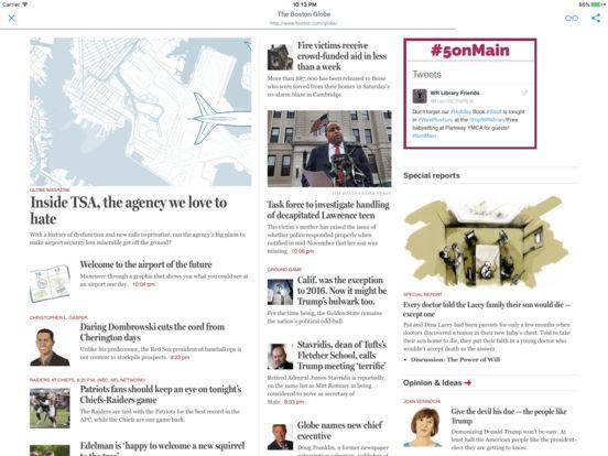 NEWSPAPERS AND MAGAZINES iPad Screenshot 1