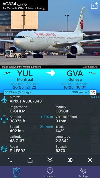Flight Tracker - Online Status Plane* Screenshots