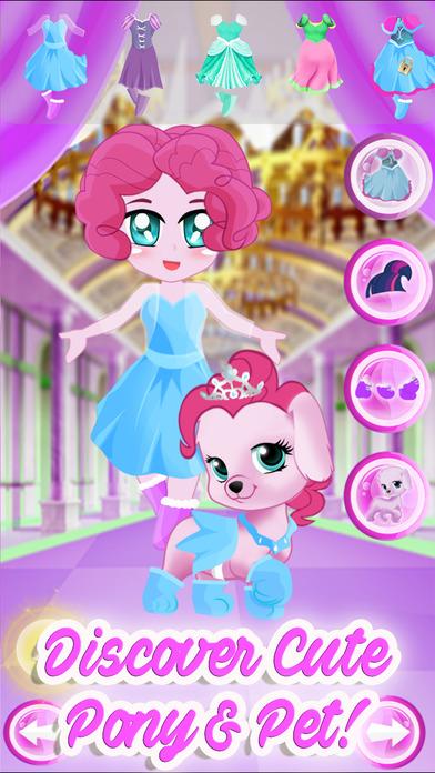 Pony Pet Friendship Dress Up Games screenshot 4