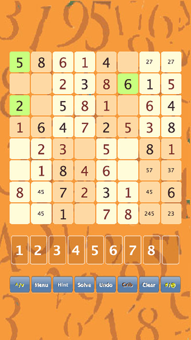 mini Sudoku iPhone Screenshot 2