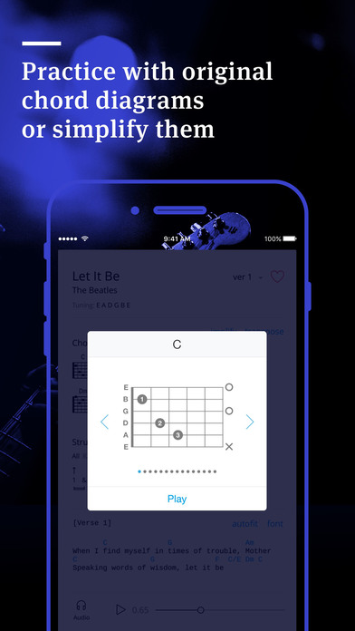 Tabs & Chords by Ultimate Guitar - learn and play iPhone
