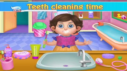 Little Baby Bathroom Hygiene screenshot 1