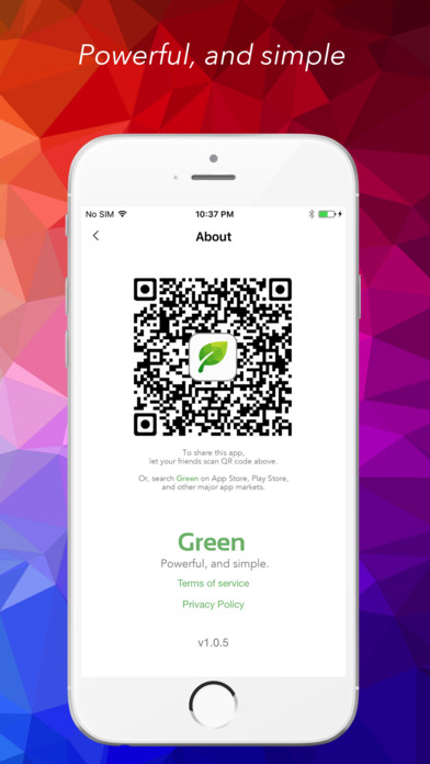 Green - The next generation VPN Apps free for iPhone/iPad screenshot