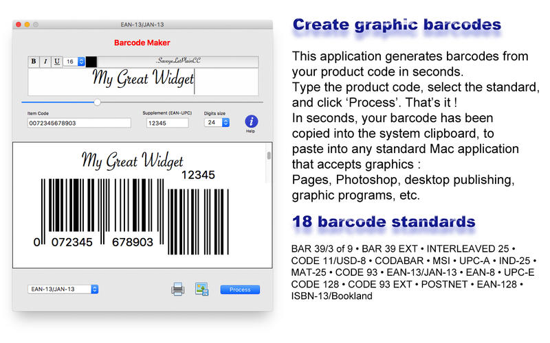 Barcode Maker Screenshots