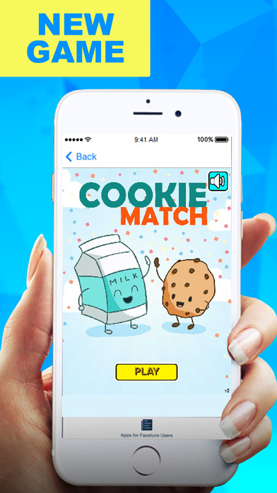 Incredible Cookie Puzzle Match Games screenshot 1