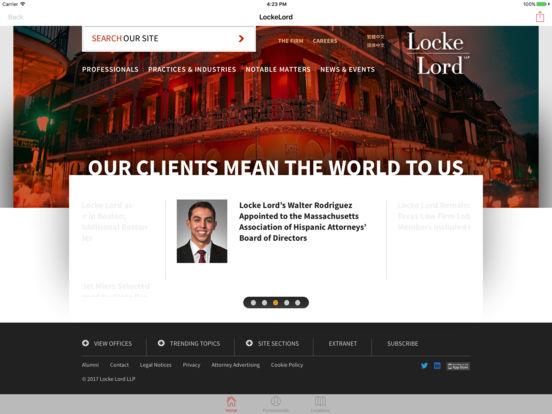Locke Lord iPad Screenshot 1