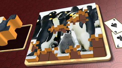 Jigsaw Solitaire Baby Animals screenshot 5