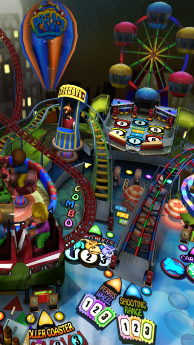 Dream Land Pinball: Amusement Park Carnival Screenshot