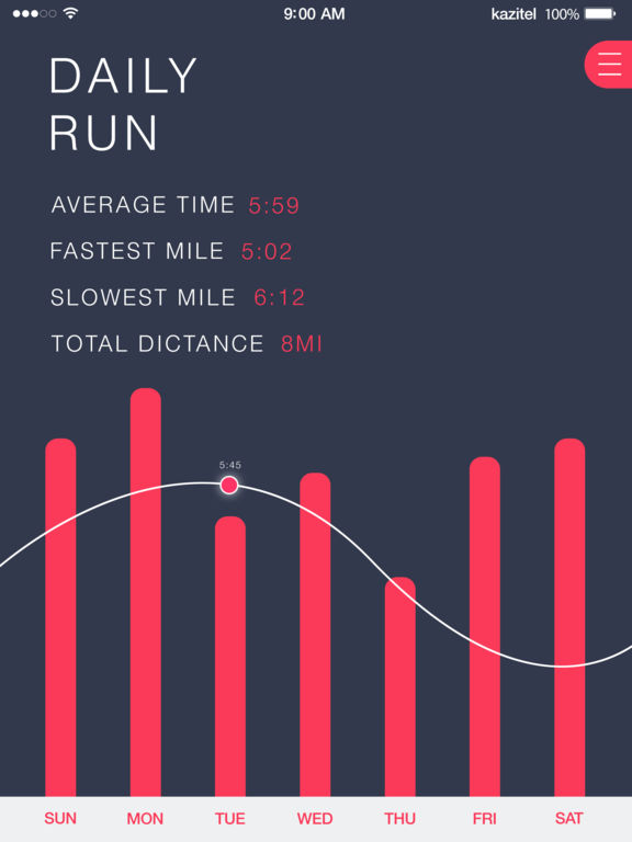 Running Distance Tracker - GPS Run Walking Coach Screenshots