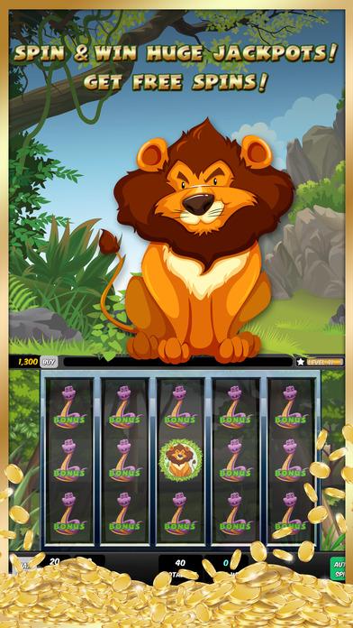 Screenshot 1 Moolah World Mega Slots
