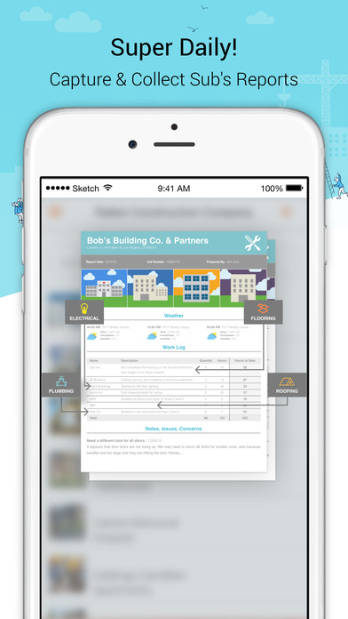 Raken construction daily reports on the app store for Application ipad construction maison