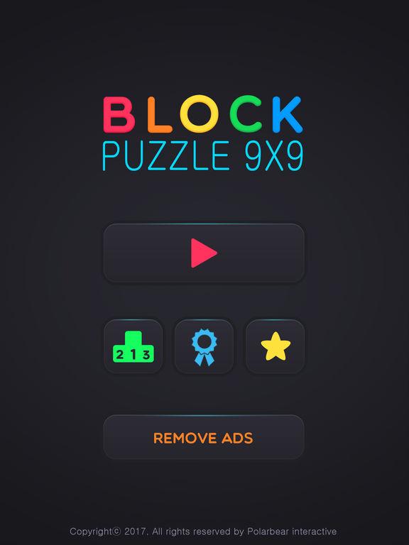 Block Puzzle 9x9 на iPad