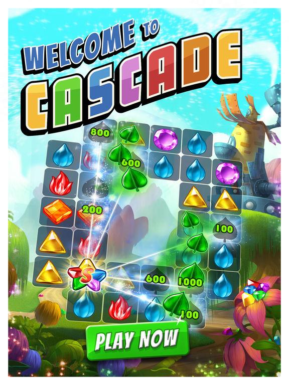 Screenshots of Cascade for iPad