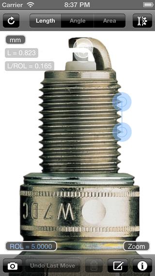 Partometer  – 相机测量工具测量图片
