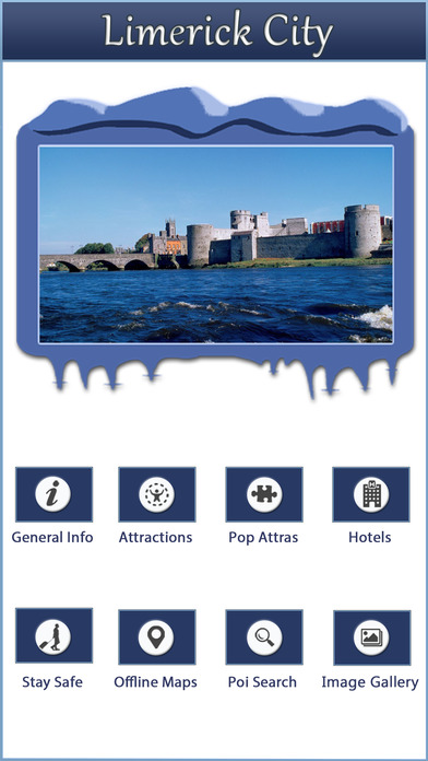 Limerick Offline City Travel Guide screenshot 2