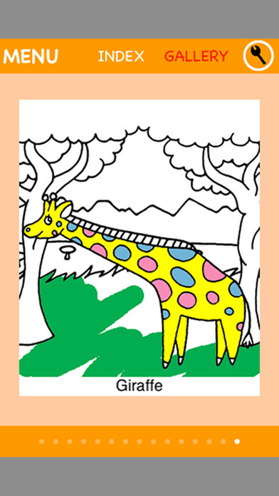 Animal Coloring ~Pets and wildlife~ for iPhone iPhone Screenshot 4
