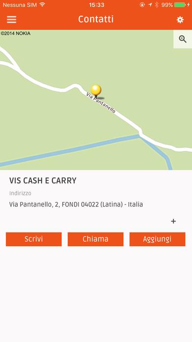App shopper vis cash carry shopping for Albanesi arredamenti