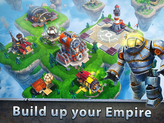 Sky Clash: Lords of Clans 3D Offers Steampunk Strategy to Mobile Gamers Image