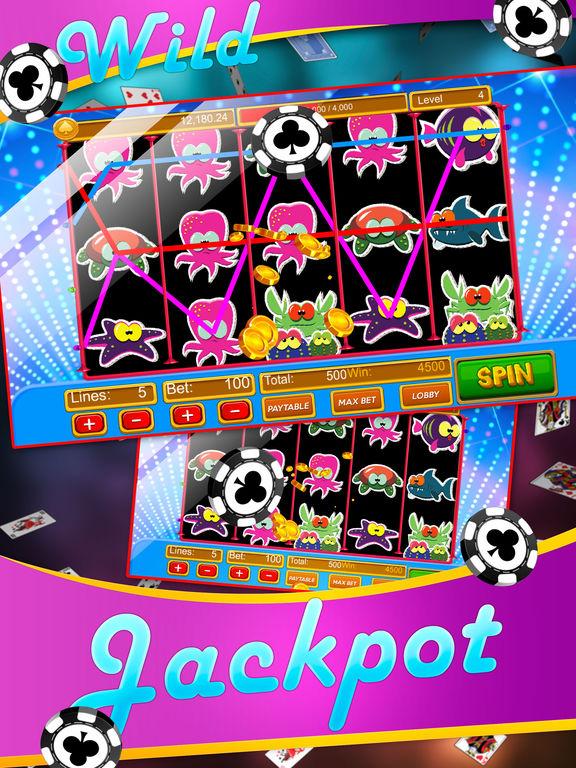 App shopper lucky fish slots games for Fish for money app