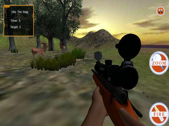 Wild Sniper Forest Hunting Pro screenshot 8