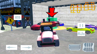 Modern City Police Car Lifter Pro screenshot 2