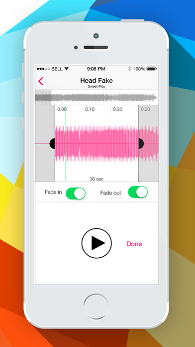 Audiko Ringtones for iPhone Lite Screenshot