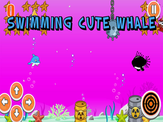 Swimming Cute Whale screenshot 4