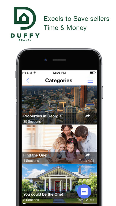 DUFFY Realty ATL Apps free for iPhone/iPad screenshot