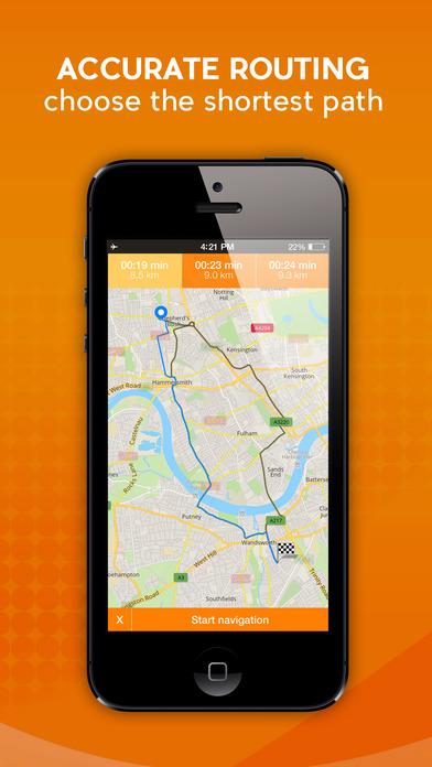 Spain - Offline Car GPS screenshot 1