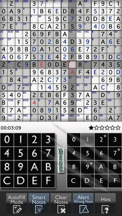 Sudoku 16x16 Monster iPhone Screenshot 1