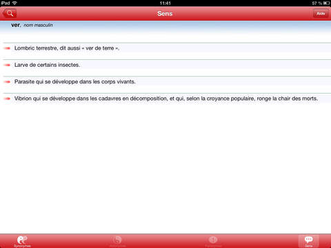 Bescherelle, Le dictionnaire des synonymes iPad Screenshot 3