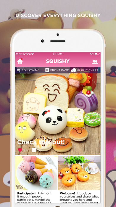 Squishy Collection Espanol : Squishy Amino on the App Store