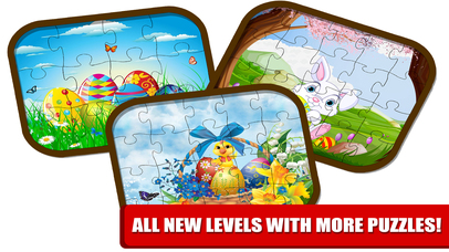 Kids Bunny Jigsaw Puzzle Easter Games screenshot 4