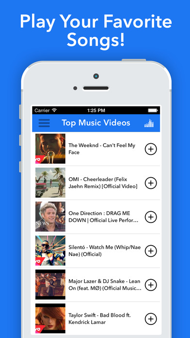 Music Video Pro- Play and Watch MP3 Music Videos Screenshots