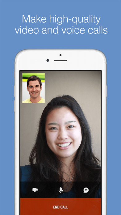 imo video calls and chat Screenshots