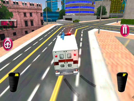 Fast Ambulance Rescue Duty 3D Pro screenshot 7