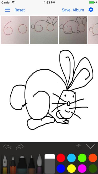 App Shopper Draw 4 Kids Free Draw Something Step By
