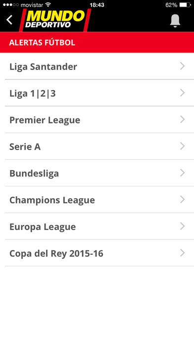 Mundo Deportivo iPhone Screenshot 4