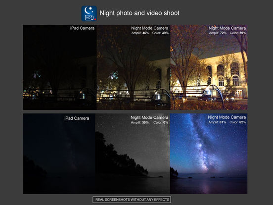 Night Photo and Video Shoot Screenshots