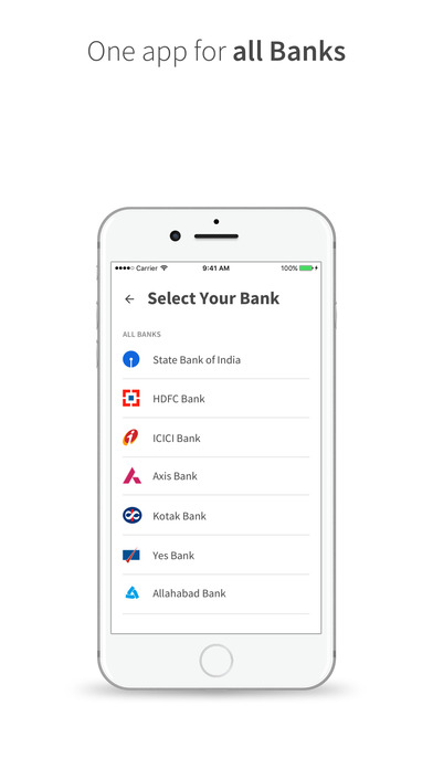 BHIM - Bharat Interface for Money Apps free for iPhone/iPad screenshot