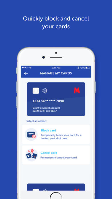 Metro Bank Apps free for iPhone/iPad screenshot