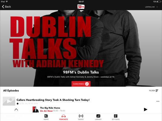 98FM iPad Screenshot 3