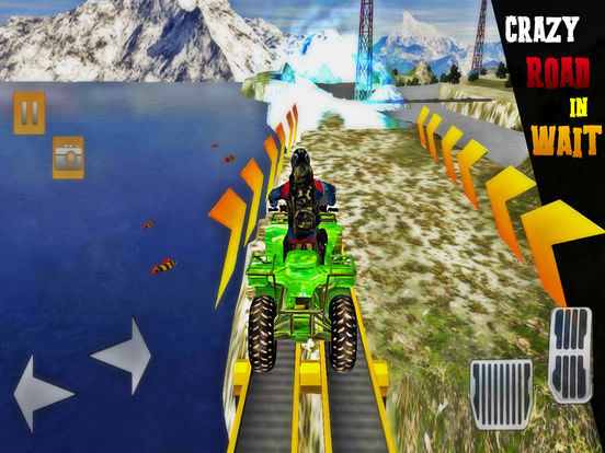 Etreme Quad Bike Race Pro screenshot 4